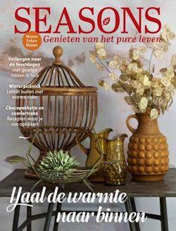 Proefabonnement: 3x Seasons € 16,50: Seasons is het blad voor iedereen die van groen, rust en ruimte houdt. Neem een automatisch aflopend proefabonnement of kies voor een jaarabonnement met korting.