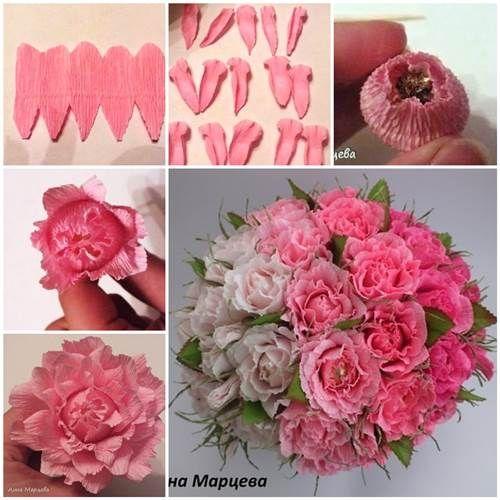 How to Make Easy Crepe Paper Chocolate Flower | iCreativeIdeas.com Like Us on Facebook ==> https://www.facebook.com/icreativeideas