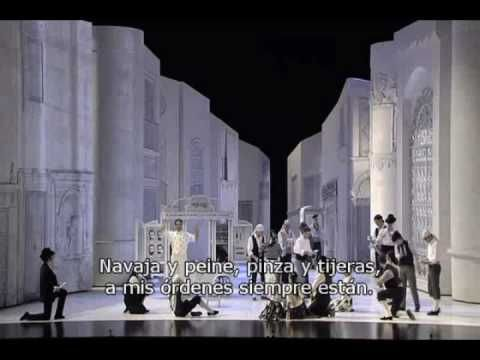 El Barbero De Sevilla - Aria de Fígaro - YouTube