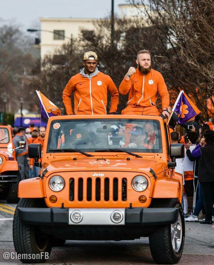 NCAA Football Championship Parade, Clemson University, 2016