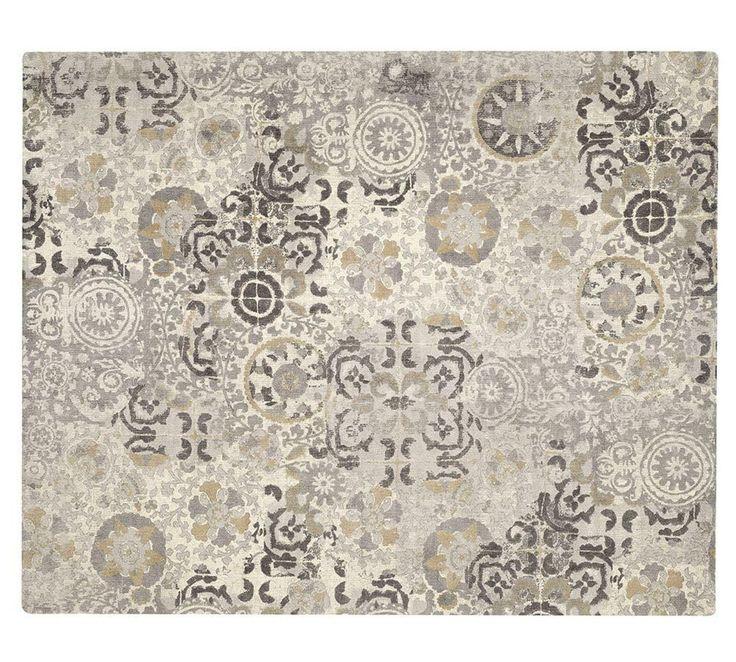 Talia Printed Rug Grey Room Rugs Contemporary Rugs Rugs