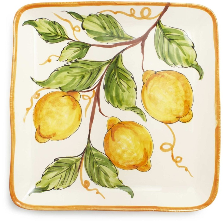 Love hand painted ceramics (Southern Italian style)