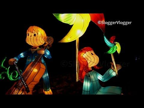 Superb Birmingham Lantern Magical Festival