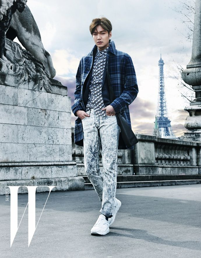 Go here and here for Lee Min Ho's previously released spreads from the May issue of W Korea.    Source | W Korea