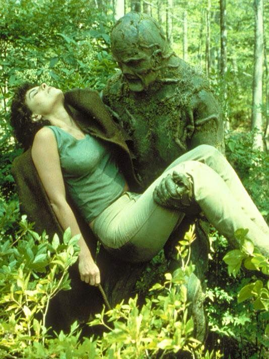 The Swamp Thing and Adrienne Barbeau