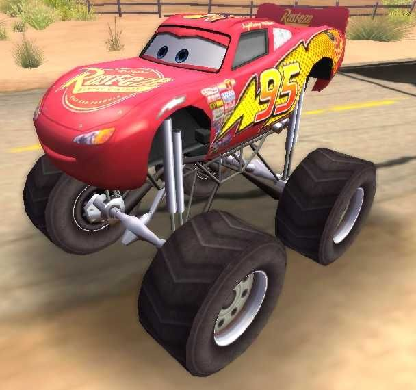 Made For Game Lightning Mcqueen Monster Truck Kid S Room