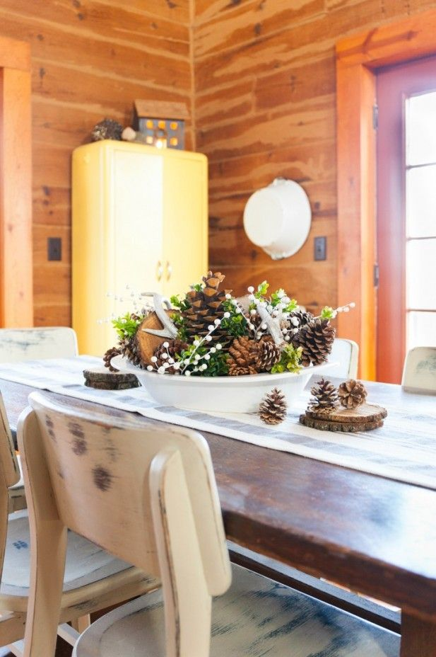 55 Best Winter Table Centerpieces Images On Pinterest