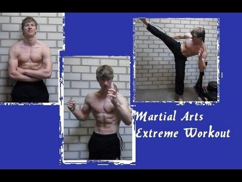 EXTREME Martial Arts WORKOUT!!!