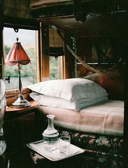 This has now been added to my Bucket List - The Venice Simplon-Orient-Express includes many of the line's original stops, including Prague, Budapest, Krakow and Dresden. And in 2013 it will offer regular service from Venice to Stockholm, via Copenhagen.  Oh, and for those of us that still long for the exotic possibility of a luxury voyage from Paris to Istanbul? Once a year, it goes there too…