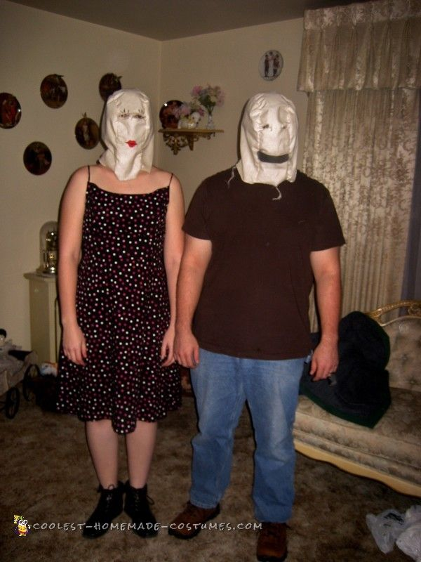 quick and cheap scary halloween costume - Cheap Creepy Halloween Costumes