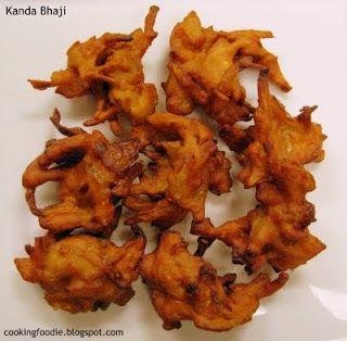 365 days of Eating: Kanda bhaji (Onion fritters)