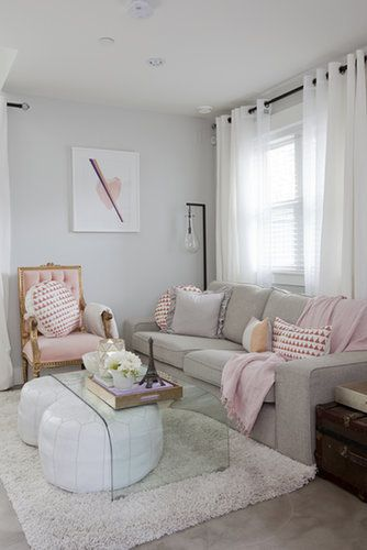 POPSUGAR: What kind of atmosphere were you looking to create? Jillian Harris: I love all of my spaces to feel cozy, but with this tiny casita, it was a challenge to style the details and accessories to the max (how I like it) while keeping it simple, open, and clean. I think the pastel color palette helped my case: cozy, classy, feminine, clean. Source: Janis Nicolay Photography