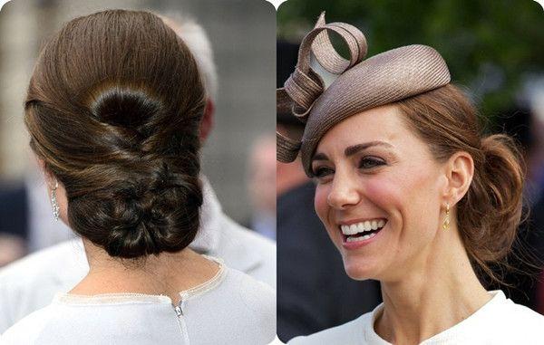 Elegante lange Frisuren von Prinzessin Kate- Mutter des Royal Babys