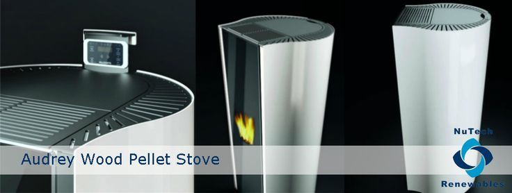 Audrey wood pellet stove by Palazzetti