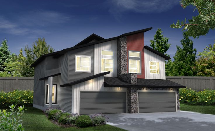 Our Palermo G Duplex ~ available in the ONE at Windermere, Edmonton www.dolcevitahomes.ca