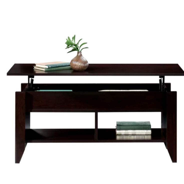 End beside coffee table nightstand wstorage drawer lift