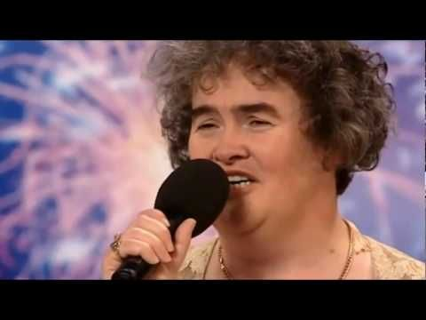 """Susan Boyle First Audition - Britain's Got Talent - """"I Dreamed A Dream"""" INCREDIBLE GIFT!!! God bless her!"""