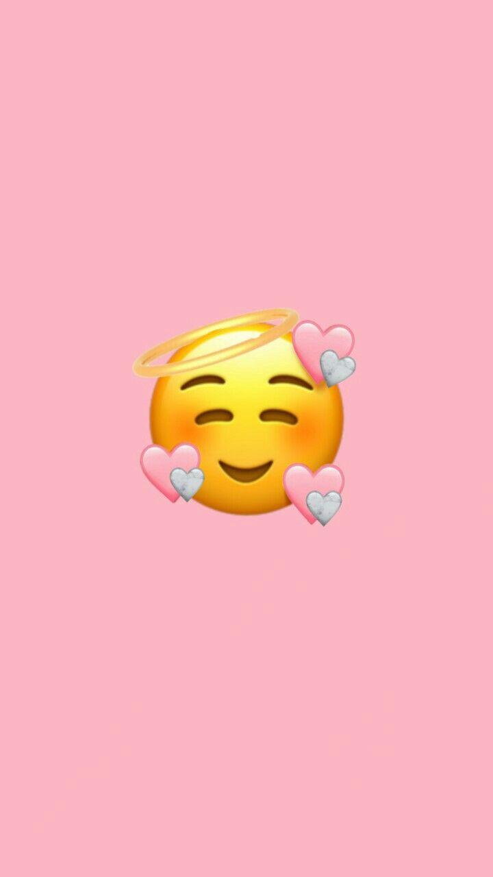 Emoticon Cute Emoji Wallpaper Wallpaper Iphone Cute Emoji