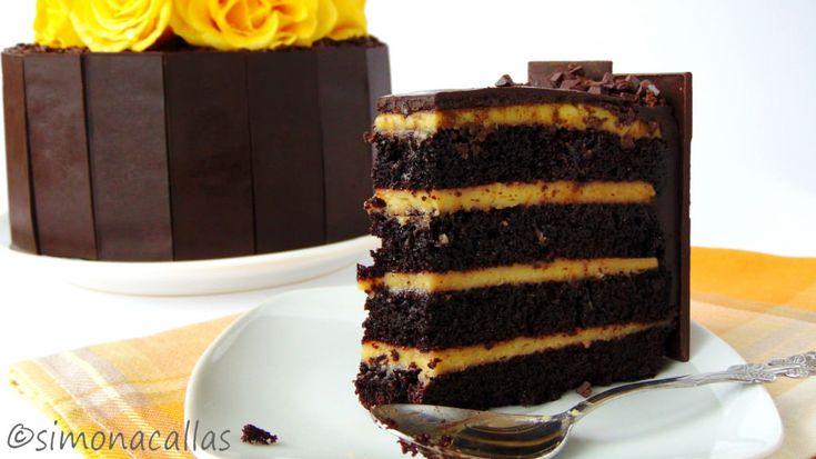 Tort aniversar cu ciocolata si vanilie 4
