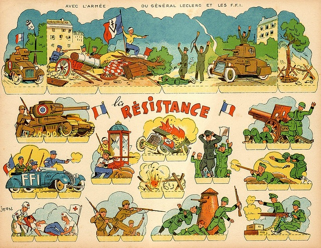 Nancy Wake   reading   questions for intermediate advanced French