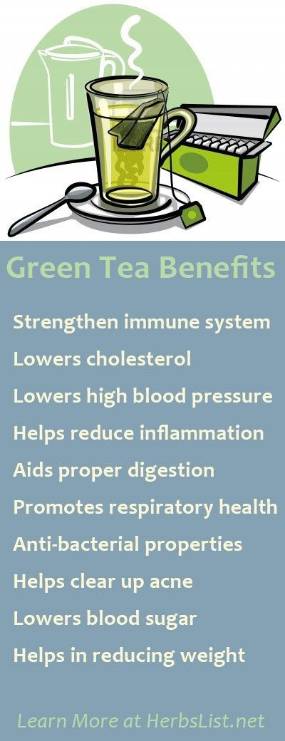 This is excellent information, but be aware that if you are anemic large doses of green tea, like in capsule form, can lower your iron.