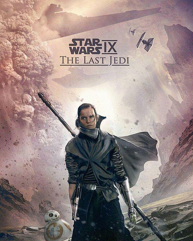 Star Wars 9 || Rey's Return ● By Ken Hill ● #starwars#swplanet#starwarsepisode9#art#rey ☆☆☆