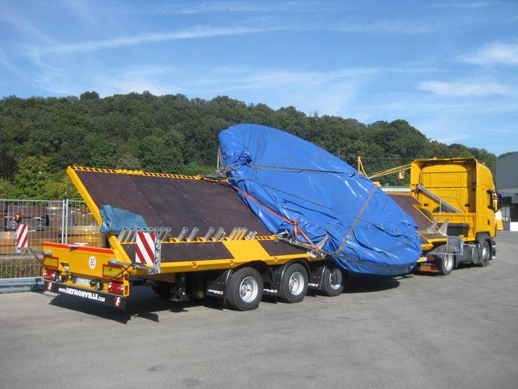 Der CargoMAX von Faymonville ist perfekt für den #Transport von #Ringe und überbreite #Güter (anhebbar).