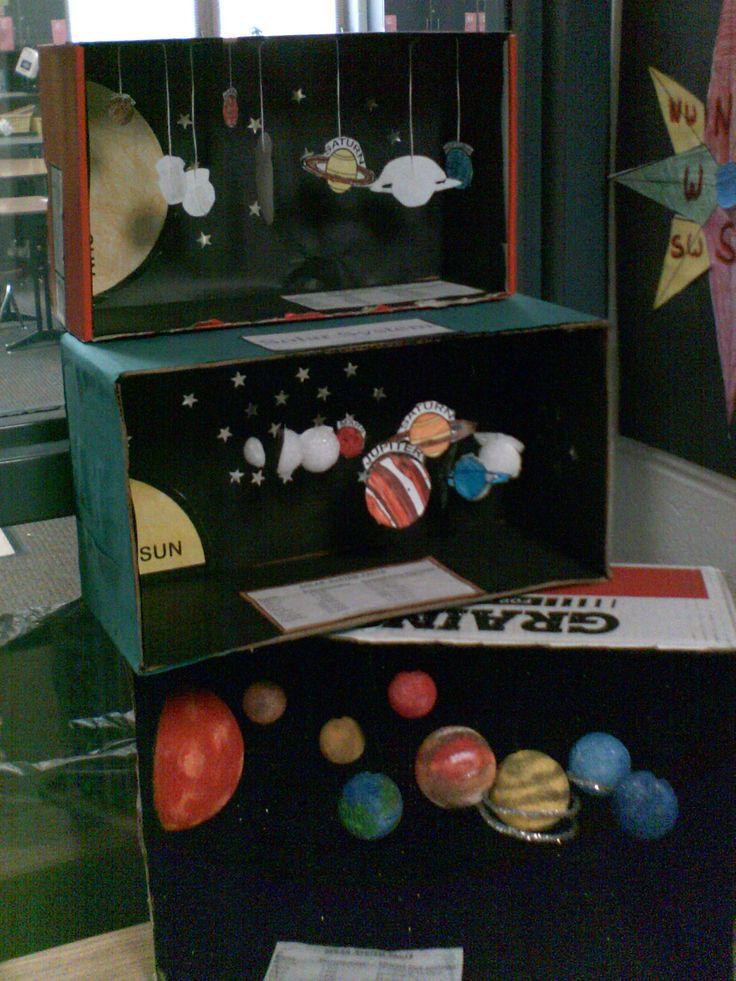 solar system dioramas, elementary school Grade School Made Easy: www.TutorFrog.com