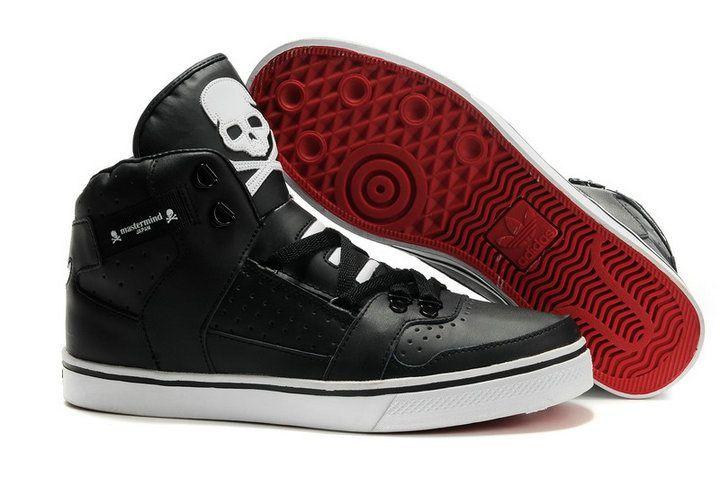Adidas Hradland CB Men Adidas Originals High Top Shoes Black