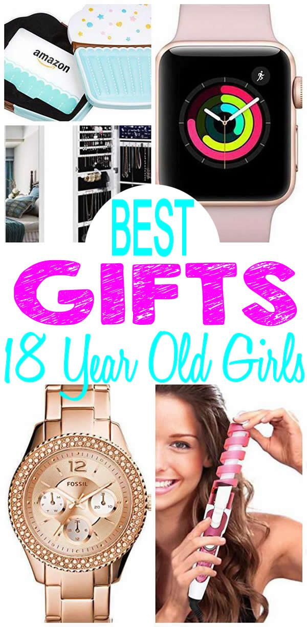 BEST Gifts 18 Year Old Girls Will Love Fun Creative Unique Presents For A 18th Birthday Christmas Or Holiday Find The Most AMAZING Gift Ideas