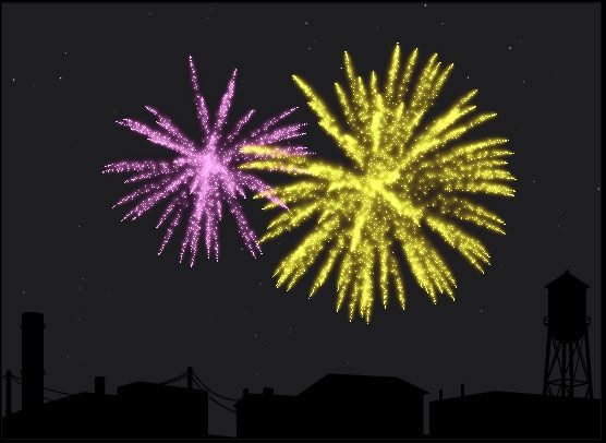 fireworks animation in flash - photo #12