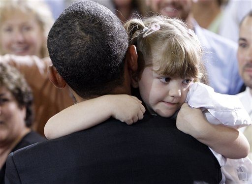 president obama with children