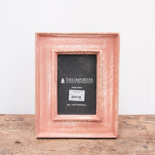The Importer - Panama Photo Frame Coral
