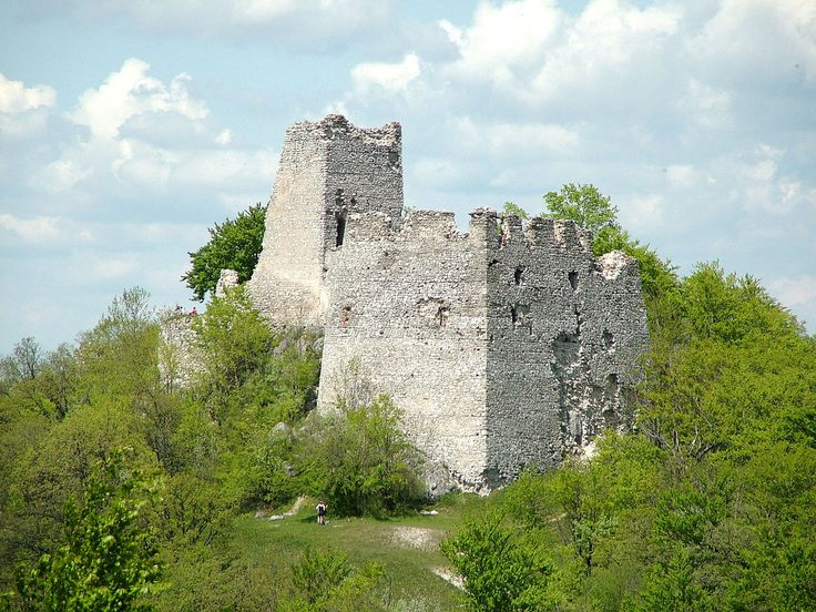 Zrúcanina hradu Tematín, Považský Inovec