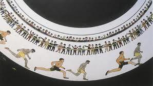 O zoopraxiscope é um dispositivo de exibição de imagens em movimento. Criado pelo pioneiro fotográfico Eadweard Muybridge em 1879 , pode ser considerado o primeiro projetor de filmes . O zoopraxiscope produz imagens projetadas na roda de discos de vidro em rápida sucessão para dar a impressão de movimento. As imagens de stop-motion foram inicialmente pintadas no vidro.