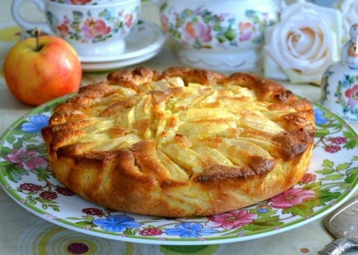 Очень простой и быстрый итальянский рецепт деревенского пирога с яблоками | Самые вкусные кулинарные рецепты