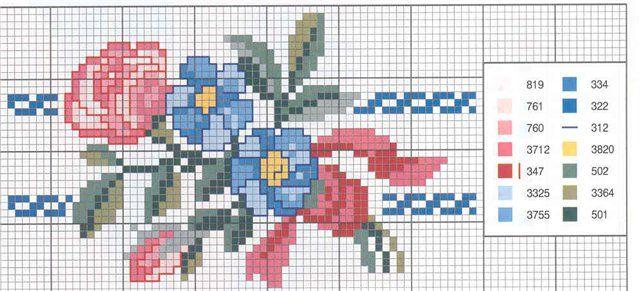 ponto-cruz-flores-punto-de-croce-17-500x400 78 gráficos de flores em ponto cruz para imprimir