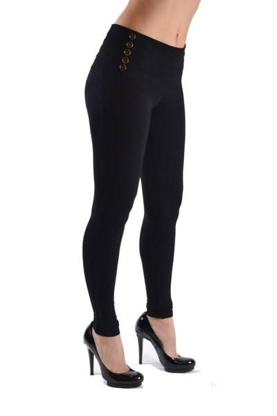 Black High Waisted Side Button Jeggings These black color women's Jeggings are soft and stretchy, and provide a comfortable fit all day long. You will love the high waist and the button sides. These black Jeggings look great with long tops, or crop tops. Get these high waisted side button Jeggings Now! Register Now and receive daily deals Buy Now Free Shipping on Orders Over $200 Country: China 95% Cotton 5% Spandex Machine Wash No Tumble Dry Available Sizes: S-M-L-XL Size Chart ...