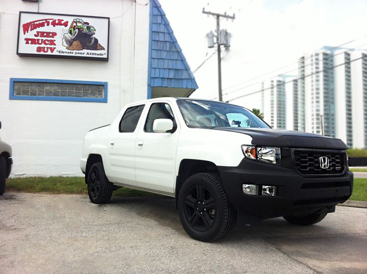 Honda Ridgeline Lifted - Definitive Lift Kit Thread ...