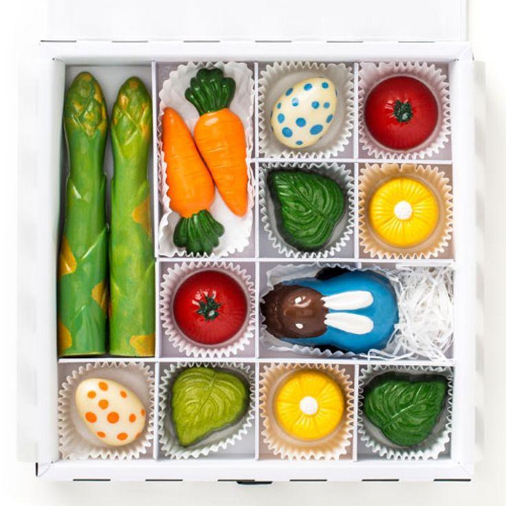 Vegetable Garden Gourmet Chocolate Easter Giftbox