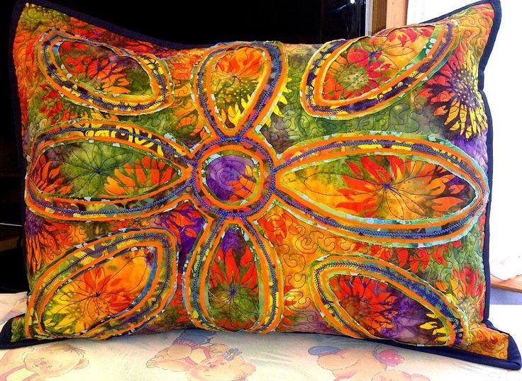 319 best Quilts - Pillows images on Pinterest | Creative ideas ... : quilts and pillows - Adamdwight.com