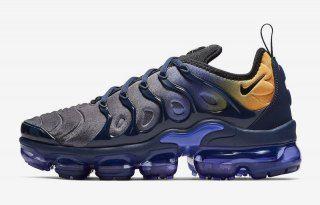 3687940f4a5da Nike Vapormax Plus Persian Violet Black Midnight Navy - AO4550 500 Males  Sneakers Men s