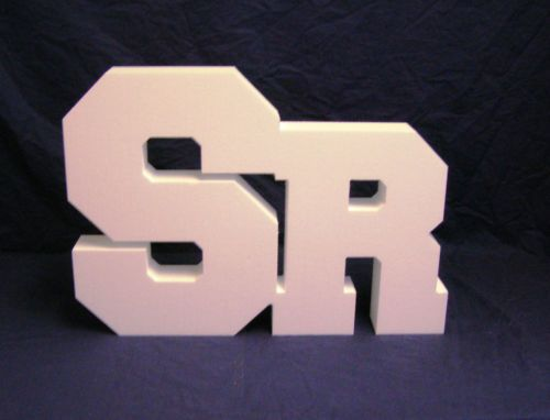 "The ""SR"" Senior Photography Prop High Density Foam 