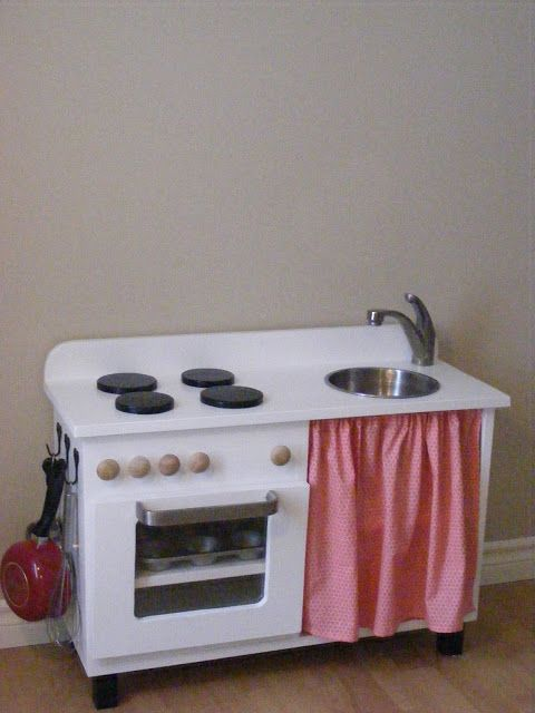The Complete Guide to Imperfect Homemaking: Our DIY Play Kitchen