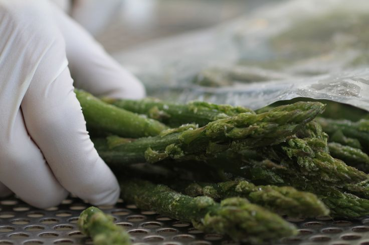 Asparagi congelati, frozen asparagus