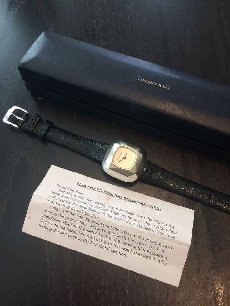 Rare Tiffany watch by EMERICH Meerson