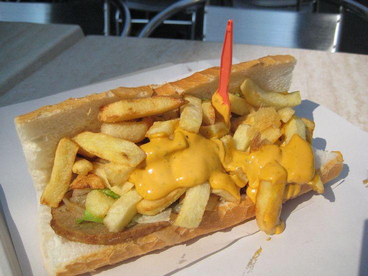 Mitraillette (fast food) - Belgian cuisine - Wikipedia