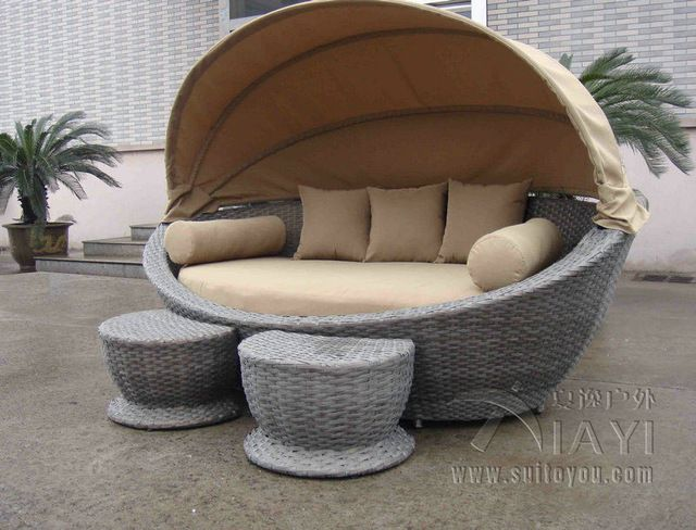 23 best muebles mimbre images on Pinterest | Backyard furniture ...