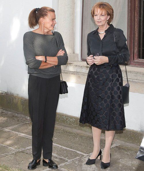 Princess Stephanie visited Princess Margareta and Prince Radu
