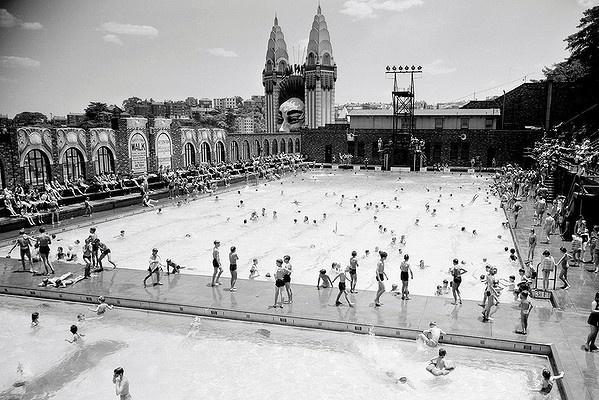 North Sydney Olympic pool in 1956.